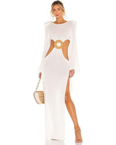 Льняное платье - белое Bronx And Banco