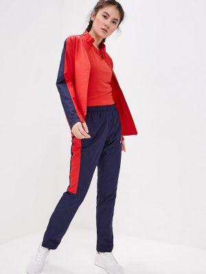 Спортивный костюм красный Asics