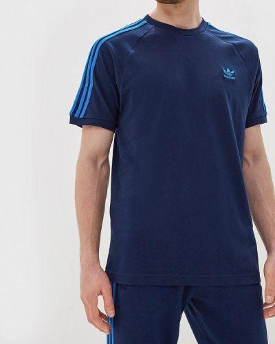 Спортивная футболка синий Adidas Originals