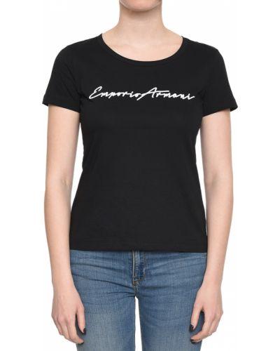 Черная футболка Emporio Armani