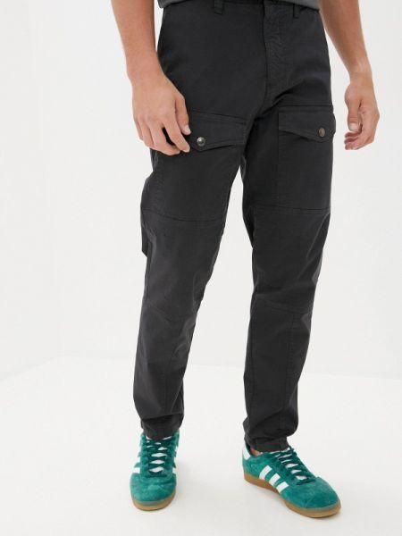 Черные брюки карго Angelo Bonetti
