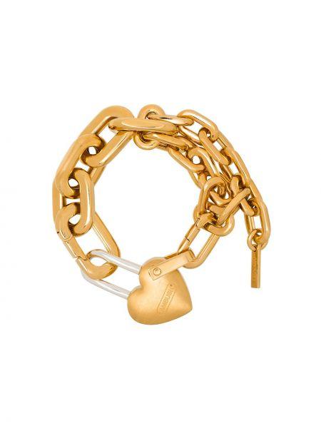 Złota bransoletka ze złota pozłacana Ambush