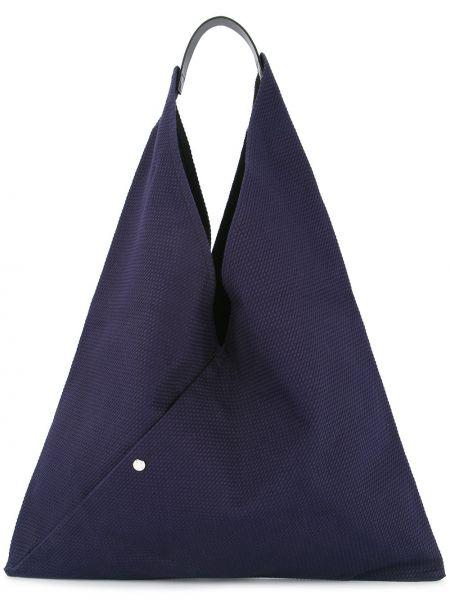 Синяя сумка-тоут Cabas