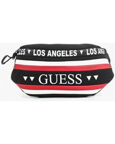 Поясная сумка текстильная Guess