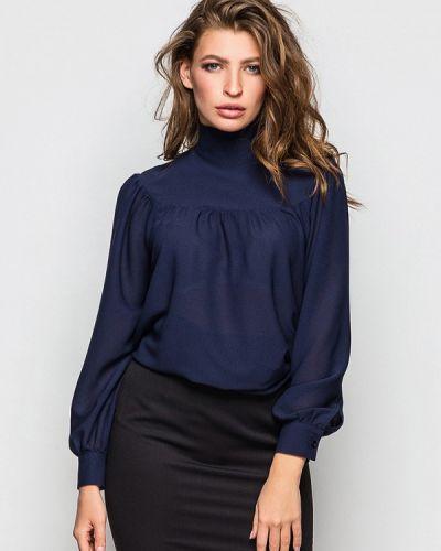 Синяя блузка с длинными рукавами Evercode