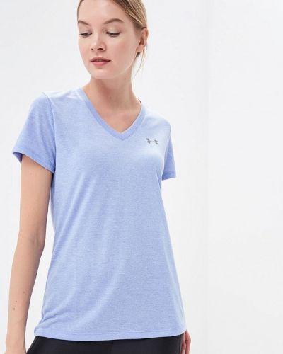 Голубая спортивная футболка Under Armour