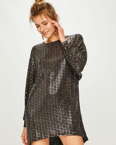 Платье мини с пайетками свободного кроя Answear