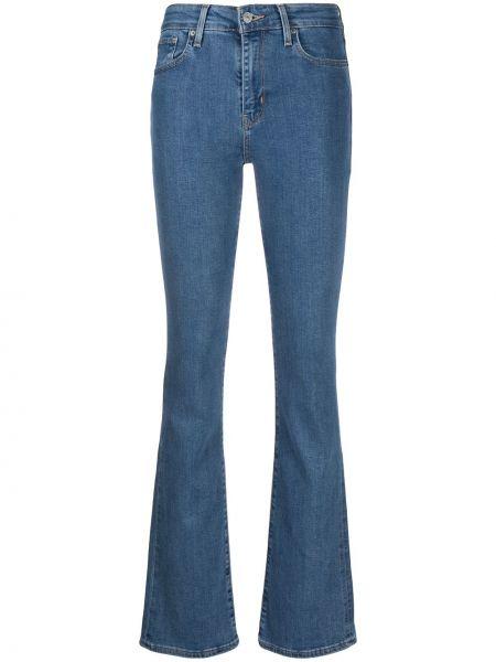 Хлопковые синие джинсы классические стрейч Levi's®