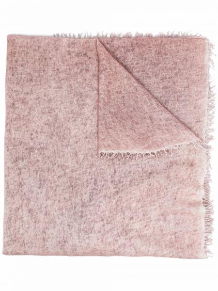 Różowy z kaszmiru szalik Avant Toi