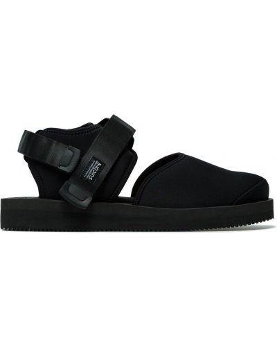 Nylon czarny sandały Suicoke