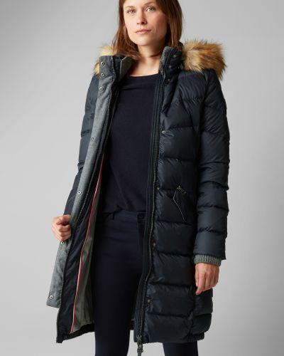 Куртка с капюшоном с мехом с перьями Marc O`polo