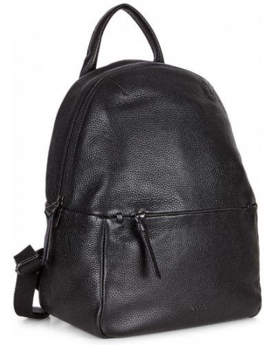 Кожаный рюкзак черный маленький Ecco