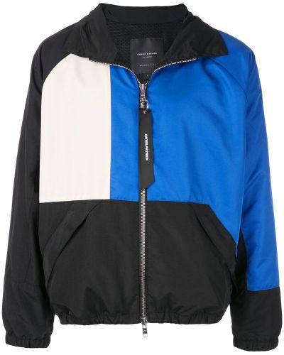 Спортивная куртка черная с манжетами Daniel Patrick
