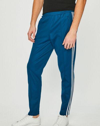 Прямые брюки с карманами с поясом Adidas Originals