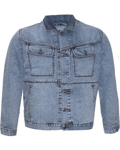 Хлопковая джинсовая куртка - синяя Dekons