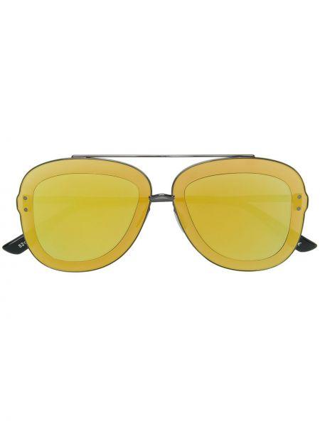 Żółte okulary Christian Roth