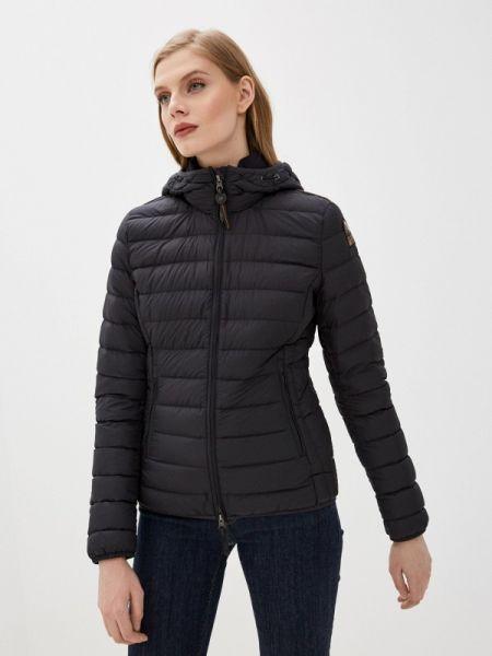 Зимняя куртка черная весенняя Parajumpers