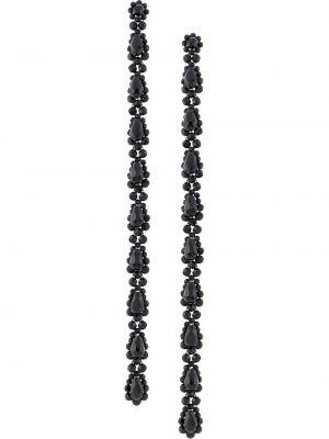 Серьги длинные - черные Simone Rocha