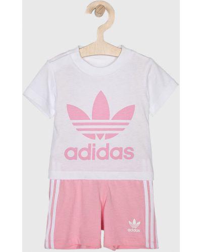 Белый спортивный костюм Adidas Originals
