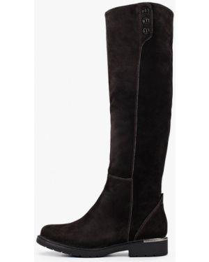 Ботинки на каблуке черные осенние Shoiberg