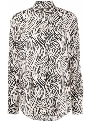 Шелковая рубашка - белая Isabel Marant