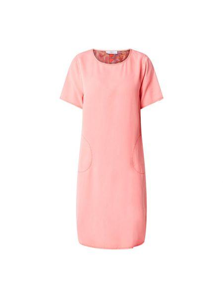 Sukienka rozkloszowana krótki rękaw - pomarańczowa Blonde No. 8