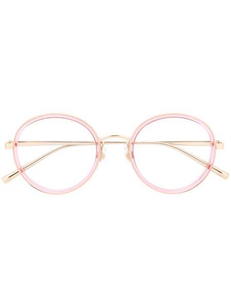 Очки хаки круглые Marc Jacobs Eyewear