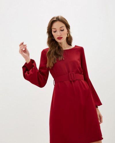 Бордовое вечернее платье Rinascimento