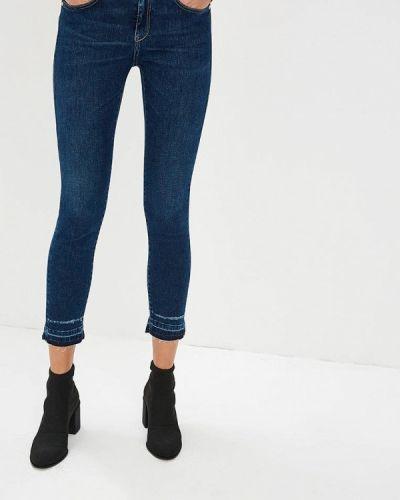 Синие джинсы-скинни Pinko