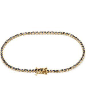 Niebieska złota bransoletka ze złota Vanzi