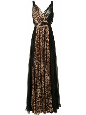 Шелковое платье макси Dolce & Gabbana