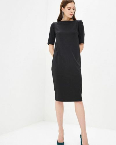 Платье осеннее черное Anrostore