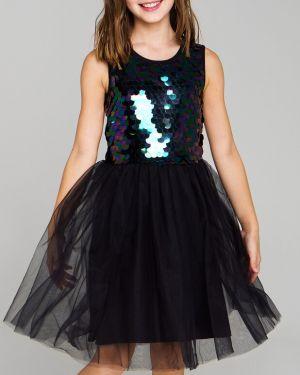 Пышное платье из фатина с пайетками Playtoday Tween