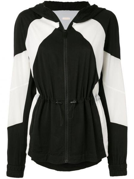 Куртка с капюшоном - черная Alala
