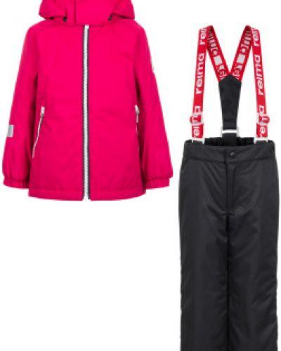 Розовые брюки Reima