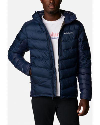 Кожаная куртка с капюшоном Columbia