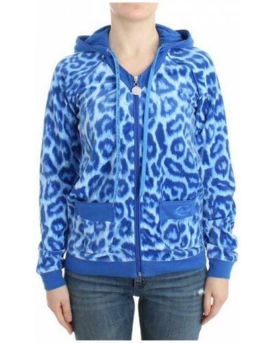 Niebieska bluza Roberto Cavalli