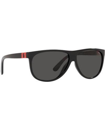 Okulary - czarne Lauren Ralph Lauren