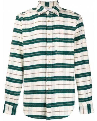 Классическая фланелевая классическая рубашка с воротником айвори Portuguese Flannel