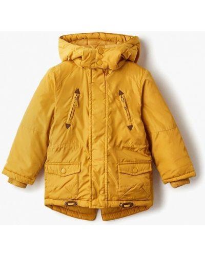 Куртка теплая желтый Modis