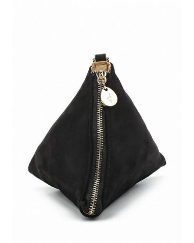Черная сумка замшевая Menbur