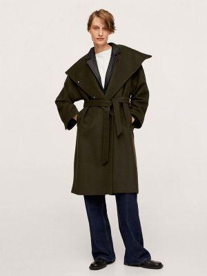 Пальто - хаки Mango