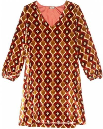 Pomarańczowa sukienka Maliparmi
