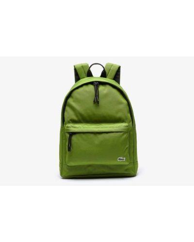 Plecak na laptopa - zielony Lacoste