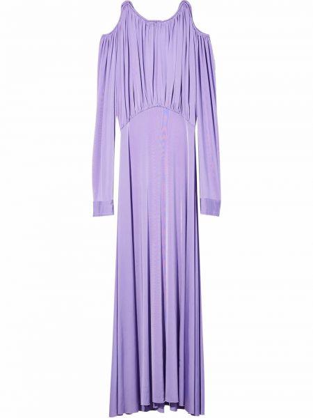 Платье макси длинное - фиолетовое Marc Jacobs