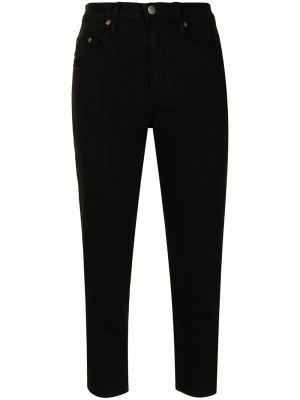 Укороченные джинсы - черные Nobody Denim