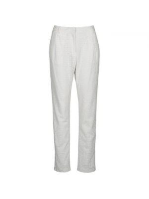 Białe spodnie Manoush