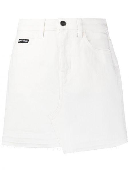 Юбка мини джинсовая с завышенной талией Palm Angels