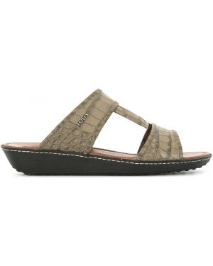 Skórzany sandały Tod's