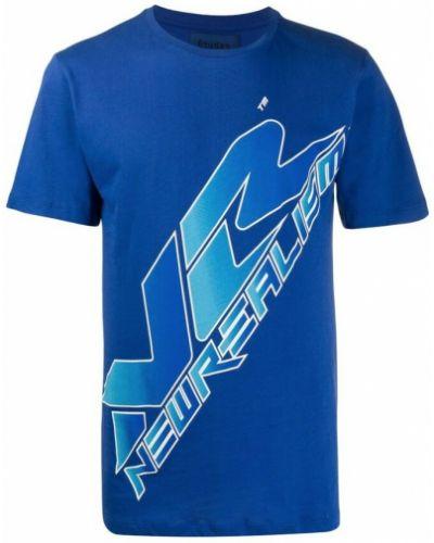 Niebieska t-shirt Etudes